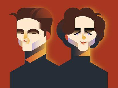 Aunque les separen casi diez años de edad, Pattinson y Chalamet tienen bastantes cosas en común. Ambos son iconos románticos de lo 'millennial'.
