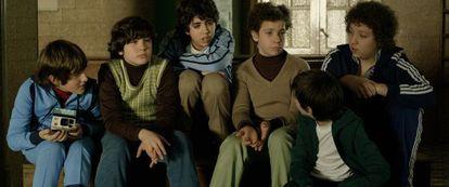 Un fotograma de la película 'Infancia clandestina'.
