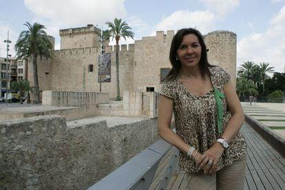 """La alcaldesa de Elche, Mercedes Alonso, defiende que """"la mejor política social es un puesto de trabajo""""."""