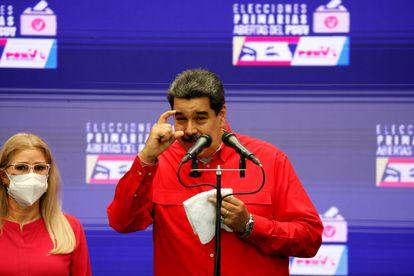 Nicolás Maduro, en una conferencia de prensa, el pasado 8 de agosto.