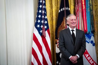 El exsecretario de Defensa James Mattis, en 2019.