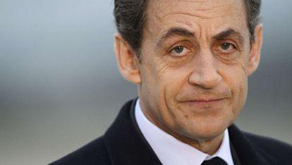 El expresidente francés, Nicolas Sarkozy, en marzo de 2012.