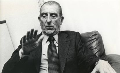 El expresidente chileno Eduardo Frei Montalva, en 1979.