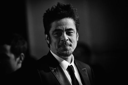 Benicio del Toro, en un acto en Londres hace unos días.