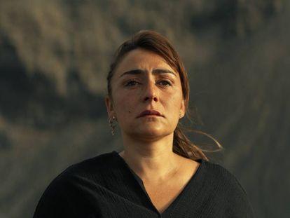 Imagen de Candela Peña, protagonista de 'Hierro', la nueva serie de Movistar Plus./ En vídeo: declaraciones de la actriz.