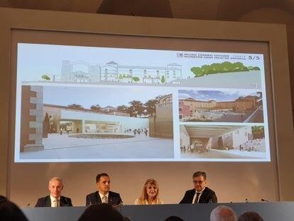 Presentación del proyecto del Museo Thyssen de Sant Feliu de Guíxols.