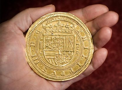 El centén (100 escudos), de 1609.