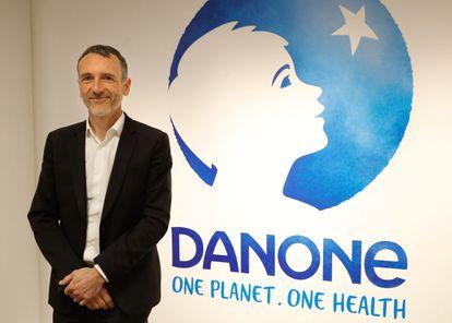 Emmanuel Faber, ex primer ejecutivo de Danone.