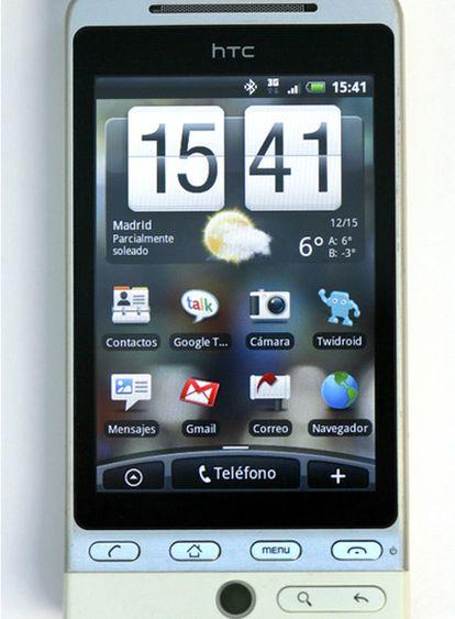 La plataforma Android  se encuentra cada vez en más terminales. HTC fue  la primera en apostar por el sistema operativo de Google para móviles.