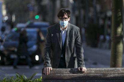 El ministro de Sanidad, Salvador Illa, fotografiado el 31 de diciembre en Barcelona.
