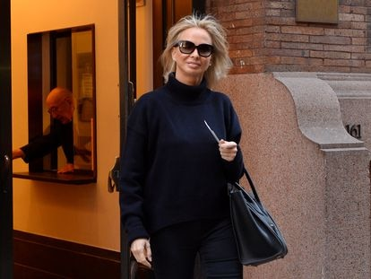 Corinna Larsen, en febrero de 2016 en Nueva York.