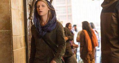 Claire Danes, en una imagen promocional de 'Homeland'.