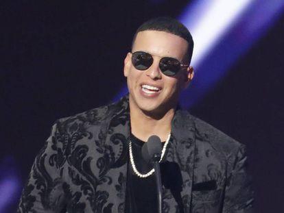 El cantante Daddy Yankee en los premios Billboard Latin Music Awards celebrados en Las Vegas (Nevada, EE UU) en abril de 2018.