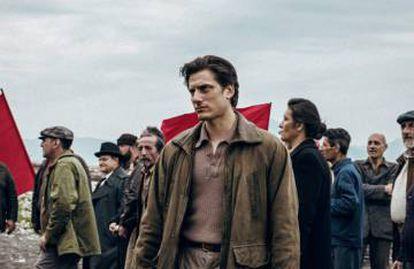 Luca Marinelli, en una imagen de 'Martin Eden'.