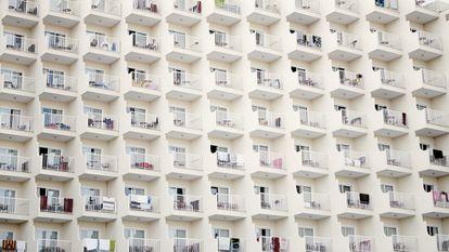 Bloque de apartamentos en Palma de Mallorca.