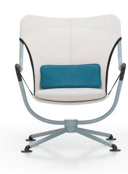 La silla 'Waver', modelo para exterior creado en 2011 por Grcic para Vitra.