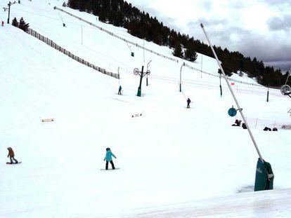 Imagen de archivo de la estación de esquí La Masella.