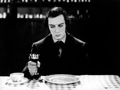 'El maquinista de la general' (1926), de Buster Keaton, se puede ver en Movistar Clásicos.