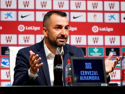 Diego Martínez dijo adiós de manera emocionada a su etapa en el Granada.