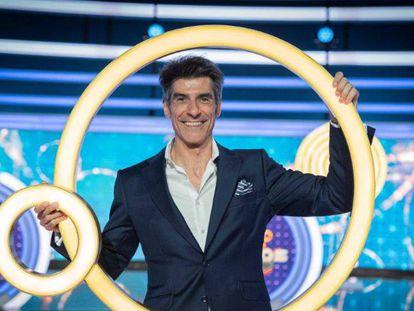 Jorge Fernández, presentador de televisión.