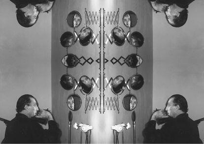 'Disparos sobre la propia obra', performance realizada por Javier Utray en la galería Cruce.