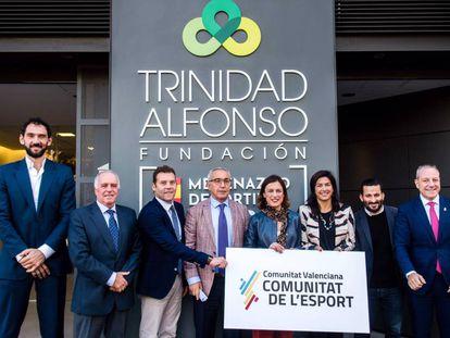 Presentación del nuevo programa de ayudas en la sede de la Fundación Trinidad Alfonso.