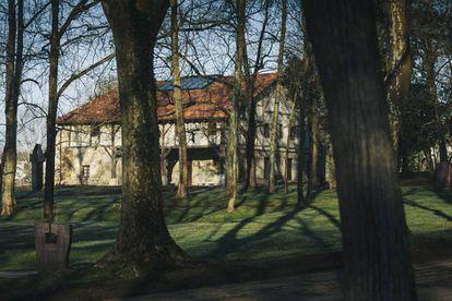 Una vista del caserío Zabalaga.