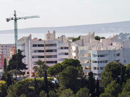 Edificios de viviendas en Baleares.