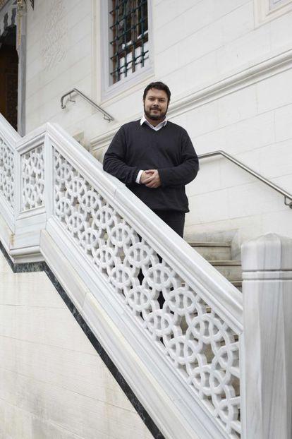 Ander Çetin, representante de la mezquita de Sehitlik (Berlín).