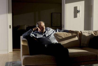 Philip Roth, en su casa en Manhattan, el pasado 5 de enero.