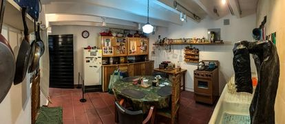 La cocina era uno de los espacios favoritos de Leonora Carrington.