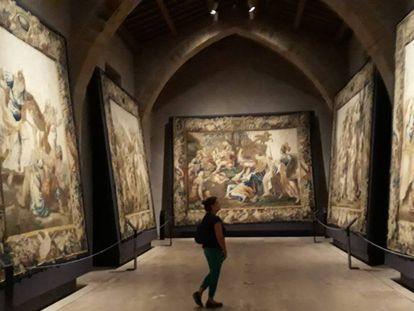 Exposición de tapices sobre la Historia de Roma en Sigüenza.