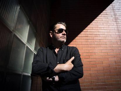 Enrique Urbizu, el pasado miércoles 16 de agosto, en Madrid.