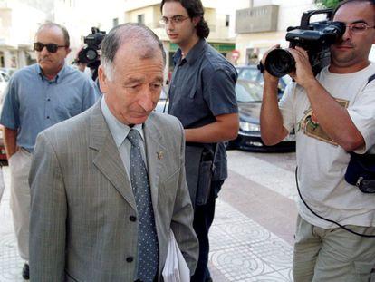 El presidente de la Diputación de Almería, Gabriel Amat, en junio de 2012.