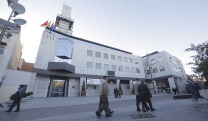 Fachada del Ayuntamiento de Getafe.