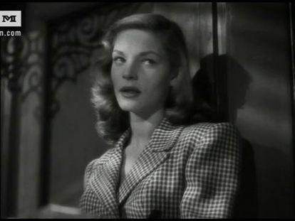 Howard Hawks habla de Lauren Bacall
