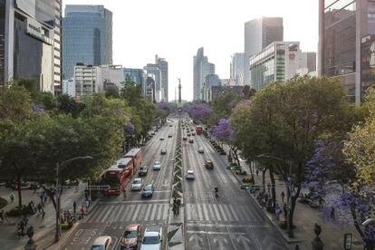 Paseo de la Reforma de Ciudad de México.