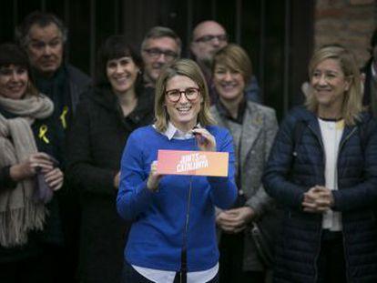 Puigdemont confía la campaña a Elsa Artadi, una alto cargo del Govern que dejó el PDeCAT hace unas semanas