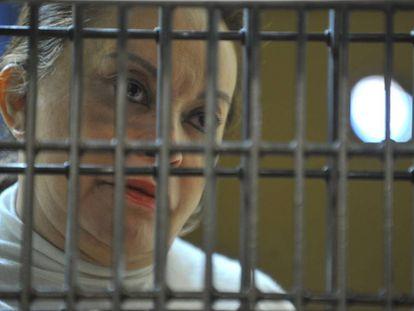 Elba Esther Gordillo, desde su celda, en Ciudad de México, en febrero de 2013