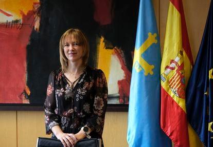 Ana Cárcaba, consejera de Hacienda del Principado de Asturias.