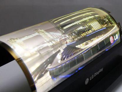 El OLED de 18 pulgadas diseñado por LG Display.