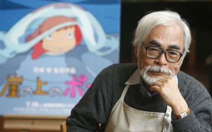 Hayao Miyazaki, en 2008.