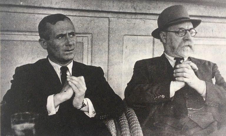 Joan Miró con Henri Matisse