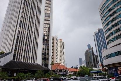 La sede del despacho Alemán, Cordero, Galindo & Lee, en la Torre Humboldt de Panamá.