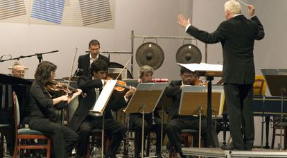 Concierto del Grupo Instrumental de Valencia en el Festival de Música de Alicante.