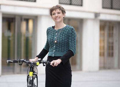 Rachel Aldred, profesora de Transporte de la Universidad de Westminster de Londres.
