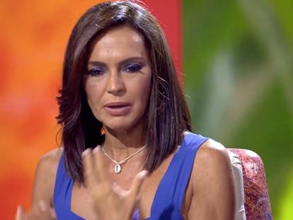 Olga Moreno, en un momento del especial 'Ahora, Olga'.