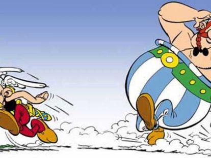 Astérix y Obélix.