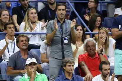 Raúl, en el US Open.