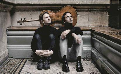 El pianista Alexandre Tharaud y el violonchelista Jean-Guihen Queyras.
